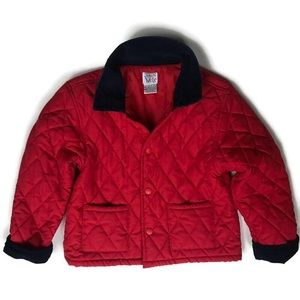 Talbots Kids Jacket Quilted Lined